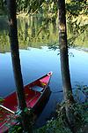 Evening on Robinson Lake, North Idaho