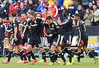 Washington, DC - Sunday, October 18 2015: DC United defeated the Chicago Fire 4-0 in an MLS match at RFK Stadium.