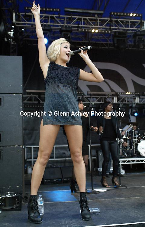 Pixie Lott performing at Tramlines, Sheffield, United Kingdom, 23rd July 2011. Photo by Glenn Ashley.