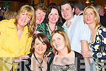 SOCIAL: Enjoying the John Mitchels GAA Social at their Clubhouse in Tralee on Saturday night. Front l-r: Marie Maher and Shirley Moloney. Back l-r: Mary Bowler, Irene ODonnell, Angela Myers, Anthony Gleeson and Martha Gilgannon..