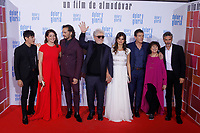 MADRID, SPAIN - March 13: Asier Etxeandia, Pedro Almodovar, Penelope Cruz and Antonio Banderas at the premiere on Dolor y Gloria at the Capitol theater in Madrid, Spain on March13, 2019.  ***NO SPAIN***<br /> CAP/MPI/RJO<br /> &copy;RJO/MPI/Capital Pictures