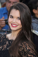 "WESTWOOD, LOS ANGELES, CA, USA - MARCH 18: Paris Berelc at the World Premiere Of Summit Entertainment's ""Divergent"" held at the Regency Bruin Theatre on March 18, 2014 in Westwood, Los Angeles, California, United States. (Photo by Xavier Collin/Celebrity Monitor)"