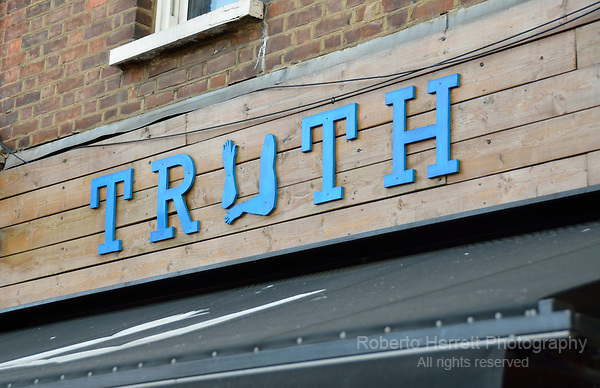 Truth Cafe in Hammersmith, London, UK.