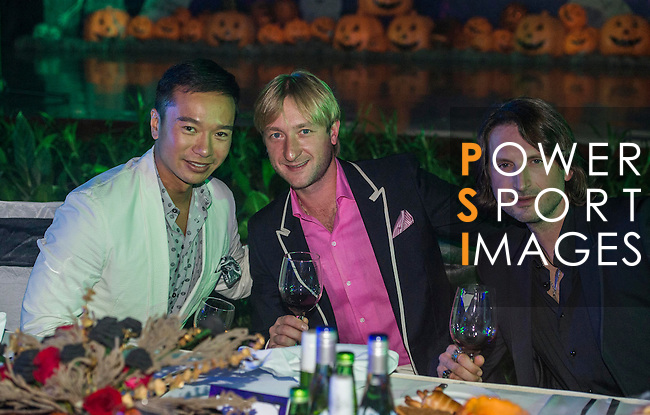Guests attend VIP cocktail party during the Mission Hills Celebrity Pro-Am on 25 October 2014, in Haikou, China. Photo by Victor Fraile / Power Sport Images