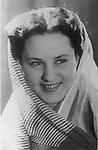 Марина Владимировна Кузнецова (Абрикосова) - советская актриса. 1962 год. / Marina Kuznetsova (Abrikosova) is a Soviet actress. 1962 year.