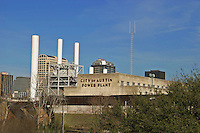 City of Austin Power Plant supplies power for a bristling city