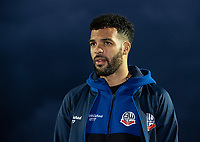 Bolton Wanderers' Jacob Mellis pictured before the match<br /> <br /> Photographer Andrew Kearns/CameraSport<br /> <br /> The Premier League - Leicester City v Aston Villa - Monday 9th March 2020 - King Power Stadium - Leicester<br /> <br /> World Copyright © 2020 CameraSport. All rights reserved. 43 Linden Ave. Countesthorpe. Leicester. England. LE8 5PG - Tel: +44 (0) 116 277 4147 - admin@camerasport.com - www.camerasport.com