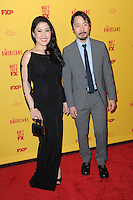 www.acepixs.com<br /> February 25, 2017  New York City<br /> <br /> Ruthie Ann Miles and Rob Yang attending 'The Americans' Season 5 Premiere at DGA Theater on February 25, 2017 in New York City.<br /> <br /> Credit: Kristin Callahan/ACE Pictures<br /> <br /> Tel: 646 769 0430<br /> Email: info@acepixs.com