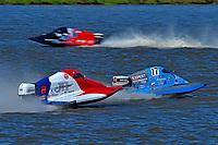 Frame 1: Final lap of heat race 2: Jeremiah Mayo (#8), Chris Hughes (#17)       (SST-45)