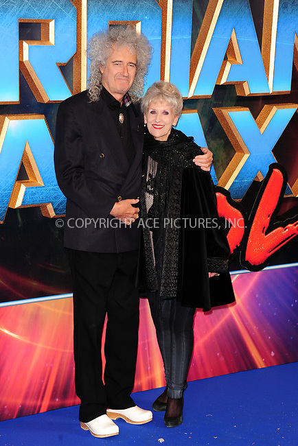www.acepixs.com<br /> <br /> April 24 2017, New York City<br /> <br /> Brian May &amp; Anita Dobbson arriving at the European Gala screening of 'Guardians of the Galaxy Vol. 2' at the Hammersmith Apollo on April 24, 2017 in London<br /> <br /> By Line: Famous/ACE Pictures<br /> <br /> <br /> ACE Pictures Inc<br /> Tel: 6467670430<br /> Email: info@acepixs.com<br /> www.acepixs.com
