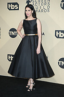 LOS ANGELES, CA - JANUARY 21: Sarah Silverman at The 24th Annual Screen Actors Guild Awards - Press Room at The Shrine Auditorium on January 21, 2018 in Los Angeles, California. Credit: FSRetna/MediaPunch