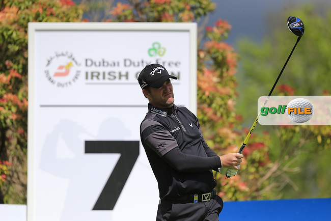 Marc Warren (SCO) during round 1 of the Dubai Duty Free Irish Open, The K Club, Straffan, Co. Kildare<br /> Picture: Golffile | Fran Caffrey<br /> <br /> <br /> All photo usage must carry mandatory copyright credit (&copy; Golffile | Fran Caffrey)