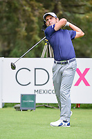 Fabrizio Zanotti (PAR) watches his tee shot on 8 during round 3 of the World Golf Championships, Mexico, Club De Golf Chapultepec, Mexico City, Mexico. 3/4/2017.<br /> Picture: Golffile | Ken Murray<br /> <br /> <br /> All photo usage must carry mandatory copyright credit (&copy; Golffile | Ken Murray)