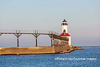 64795-02820 Michigan City Lighthouse & Pier Michigan City, MI
