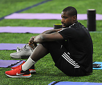 Springfield, VA - January 23, 2019: D.C. United training session to kick start their 2019 Major League Soccer (MLS) preseason at The St. James sport complex.