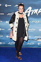 Gizzi Erskine<br /> at the Cirque du Soleil &quot;Amaluna&quot; 1st night, Royal Albert Hall, Knightsbridge, London.<br /> <br /> <br /> &copy;Ash Knotek  D3218  12/01/2017