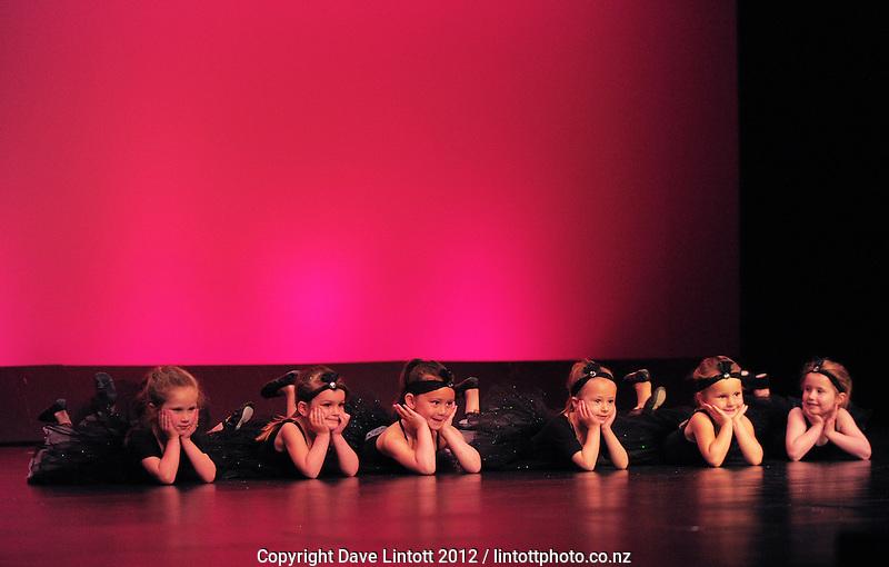 Time For Dancing children's dance recitals at Memorial Theatre, Victoria University, Wellington, New Zealand on Saturday, 1 December 2012. Photo: Dave Lintott/ lintottphoto.co.nz