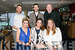 Pamela Costello from Tralee celebrating her birthday with friends on Saturday night, at the Kingdom Greyhound Stadium  front l-r  Aisling Conway, Pamela Costello and Jennifer O'Connor. Back l-r  David O'Leary, Keith Costello and Tommy O'Connor.