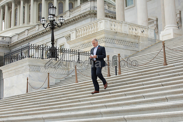 United States Senator Thom Tillis (Republican of North Carolina) leaves the United States Capitol in Washington D.C., U.S. on Thursday, May 21, 2020.  Credit: Stefani Reynolds / CNP/AdMedia