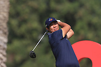 Beyond Hun An (KOR) on the 3rd during Round 3 of the Omega Dubai Desert Classic, Emirates Golf Club, Dubai,  United Arab Emirates. 26/01/2019<br /> Picture: Golffile | Thos Caffrey<br /> <br /> <br /> All photo usage must carry mandatory copyright credit (© Golffile | Thos Caffrey)