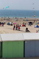 France, Pas-de-Calais (62), Côte d'Opale, Berck : la plage//  France, Pas de Calais, Cote d'Opale (Opal Coast), Berck: The beach