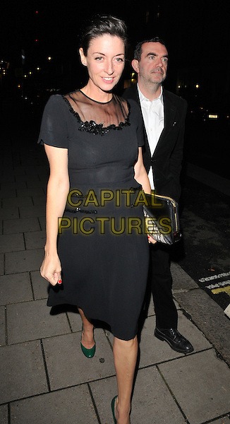 Mary McCartney &amp; Simon Aboud attend the De Beers Moments in Lights launch party &amp; gala dinner, Claridge's Ballroom, Brook Street, London, England, UK, on Friday 18 September 2015. <br /> CAP/CAN<br /> &copy;Can Nguyen/Capital Pictures