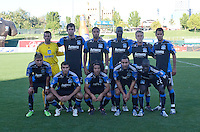 San Jose Earthquakes starting eleven. The San Jose Earthquakes defeated Chivas USA 6-5 in shootout after drawing 0-0 in regulation time to win the inagural Sacramento Cup at Raley Field in Sacramento, California on June 12, 2010.