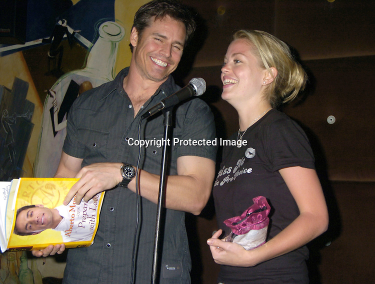 Dan Gauthier and Bree Williamson ..at a benefit for The Gabriel Project at Prohibition on ..June 11, 2005 in New York City. The Gabriel Project ..brings children from Africa who have heart problems..and gets them surgery in America. ..Photo by Robin Platzer, Twin Images..