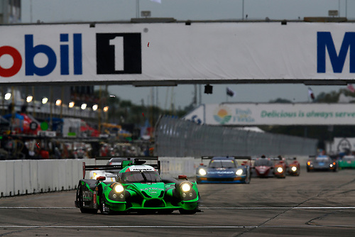 16-19 March, 2016, Sebring, Florida, USA<br /> , 2, Honda HPD, Ligier JS P2, P, Scott Sharp, Ed Brown, Joannes van Overbeek, Luis Felipe Derani<br /> ©2016, Michael L. Levitt<br /> LAT Photo USA