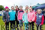 at the SPA National School Donal Walsh 6K Walk/Run Challenge on Sunday were Clemence Iglesias Thubeavilla, Grace Stack, Robin Kelly, Aoife Greaney, Aina Walsh, Clara O'Dowd, Kate McCarroll and Maria Walsh