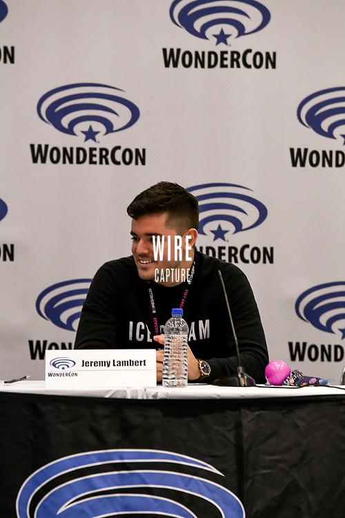 Jeremy Lambert at Wondercon in Anaheim Ca. March 31, 2019
