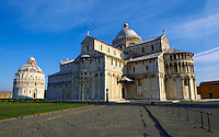 The Duomo & Bapistry of Pisa, Italy