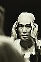 1972 - Kichiemon Nakamura II was a Kabuki actor. (Photo by Koichi Saito/AFLO)