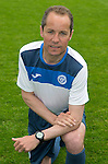 St Johnstone FC Photocall, 2015-16 Season....03.08.15<br /> Alex Cleland, U20 Coach<br /> Picture by Graeme Hart.<br /> Copyright Perthshire Picture Agency<br /> Tel: 01738 623350  Mobile: 07990 594431