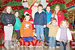 SANTA: Having a great time with Santa at Manor West shopping centre on Saturday l-r: Ciara and Laura Fitzgerald, Rathass, Adain, Darragh and Emma O'Connor, Ballyduff, Alyssa and Cian Fleming, Beaufort and Grace Costello Wall, Ballybunion.