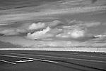 Madras, Oregon. Route 26 Highway. Topographic landscape.