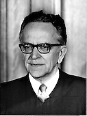 """Associate Justice of the United States Supreme Court Harry A. Blackmun photographed at the Supreme Court in Washington, D.C. on Monday, April 24, 1972..Credit: Benjamin E. """"Gene"""" Forte / CNP"""