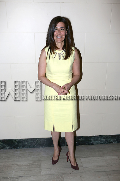 Jeanine Tesori attends the after performance party for the New York City Center Encores! Off-Center production of 'Randy Newman's FAUST' - The Concert at City Center on July 1, 2014 in New York City.