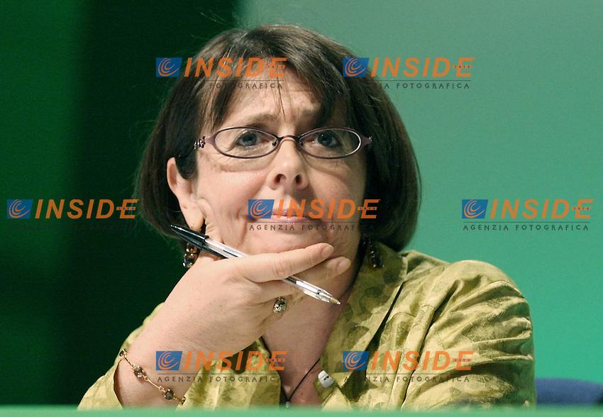Marina Sereni.Assemblea Nazionale del Partito Democratico.Roma, 21 Maggio 2010.Photo Serena Cremaschi Insidefoto