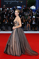 VENICE, ITALY - SEPTEMBER 05: Jennifer Lawrence attends 'Mother' Red Carpet during 74th Venice Film Festival at Palazzo Del Cinema on September 5, 2017 in Venice, Italy. (Mark Cape/insidefoto)