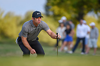 Paul Casey (GBR) looks over his putt on 1 during day 4 of the WGC Dell Match Play, at the Austin Country Club, Austin, Texas, USA. 3/30/2019.<br /> Picture: Golffile | Ken Murray<br /> <br /> <br /> All photo usage must carry mandatory copyright credit (© Golffile | Ken Murray)