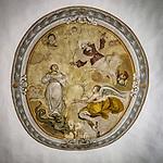 Ceiling, Chiesa SS. Annunziata, Church of the Annunciation, Vinci, Tuscano, Italy