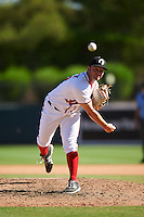 Glendale Desert Dogs pitcher Ryan Brinley (37), of the Washington Nationals organization, during a game against the Mesa Solar Sox on October 20, 2016 at Camelback Ranch in Glendale, Arizona.  Glendale defeated Mesa 3-2.  (Mike Janes/Four Seam Images)