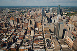 Aerial view of Philadelphia Pennsylvania