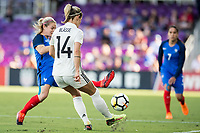 Orlando City, FL - Wednesday March 07, 2018: Anna Blässe during a 2018 SheBelieves Cup match between the women's national teams of Germany (GER) and France (FRA) at Orlando City Stadium.