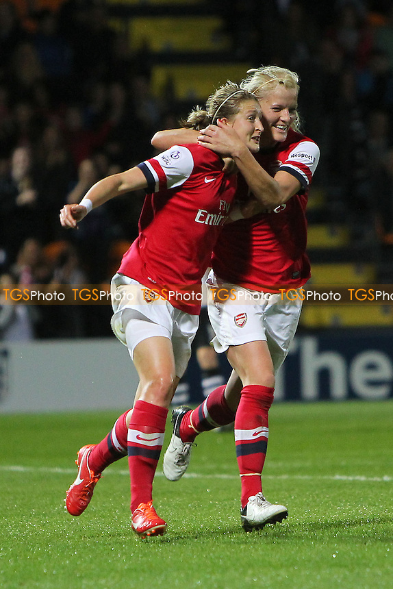 - Arsenal Ladies vs Lincoln Ladies - FA Womens Super League Continental Cup Final Football at The Hive Stadium, Barnet FC - 04/10/13 - MANDATORY CREDIT: Gavin Ellis/TGSPHOTO - Self billing applies where appropriate - 0845 094 6026 - contact@tgsphoto.co.uk - NO UNPAID USE