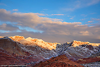 Snow Canyon, Utah<br /> First clearing after many days of rain and some snow, 1-8-16 SNOW CANYON STATE PARK- IVINS- ST. GEORGE, UTAH