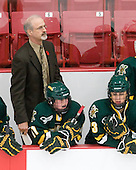 Tim Bothwell (Vermont - Head Coach) - The Boston University Terriers tied the visiting University of Vermont Catamounts 2-2 on Saturday, November 13, 2010, at Walter Brown Arena in Boston, Massachusetts.