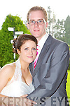 Marika Renton, Kilcummin daughter of Peter and Sara, and Peter Lait, Fossa son of Barry and Patricia who were married in the Kingdom Hall of Jehovah Witness, Aghadoe on Friday, Minister Andy Beeston officiated at the ceremony, best man was Matthew Lait, groomsmen was Owen Frannsen, bridesmaids were Kia Bellinger and Tasmin Frannsen, the couple held their reception in Darby O'Gills  Hotel, Killarney and the couple will reside in Fossa ..0860710455 groom..