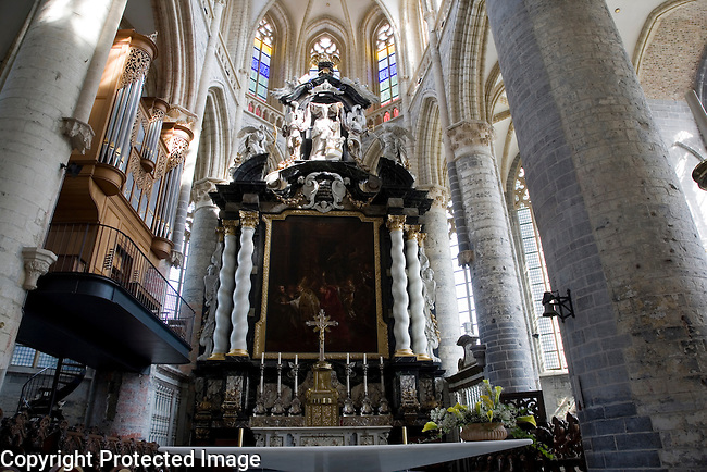 St Niklaaskerk - Nicholas Church, Ghent, Belgium, Europe